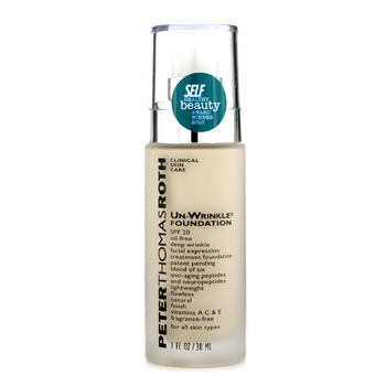 buy Peter Thomas Roth Un Wrinkle Foundation SPF 20 - # Light 30ml/1oz  skin care shop