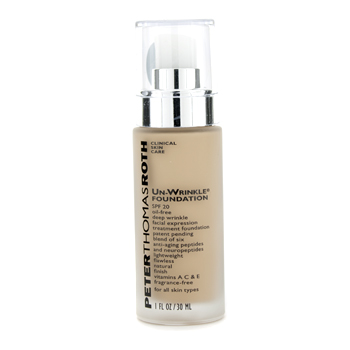buy Peter Thomas Roth Un Wrinkle Foundation SPF 20 - # Tan 30ml/1oz  skin care shop