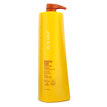 buy Joico Smooth Cure Shampoo (For Curly/ Frizzy/ Coarse Hair) 1000ml/33.8oz by Joico skin care shop