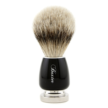 buy Baxter Of California Baxter Badger Hair Shave Brush - Silver Tip (Black) 1pc  skin care shop