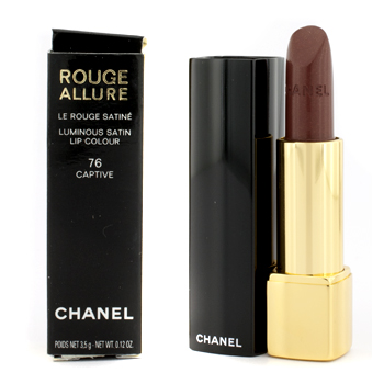 buy Chanel Allure Lipstick - No. 76 Captive (Box Slightly Defect) 3.5g/0.12oz  skin care shop