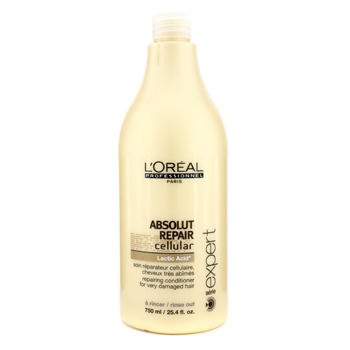Cuidados com o cabelo, L'Oreal, L'Oreal Professionnel Expert Serie - Absolut Repair Cellular Repairing Conditioner (For Very Damaged Hair) 750ml/25.4oz