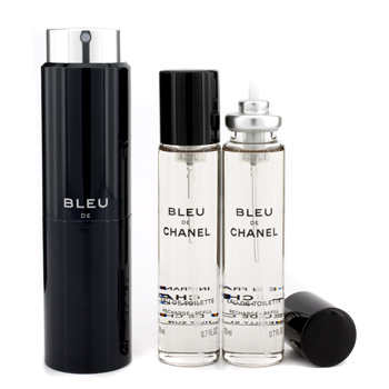 buy Chanel Bleu De Channel Twist & Spray Eau De Toilette 3x20ml/0.7oz  skin care shop