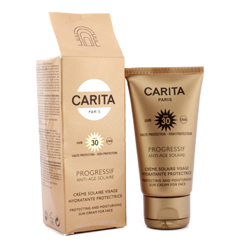 buy Carita Progressif Anti-Age Solaire Protecting & Moisturizing Sun Cream for Face SPF 30 (Box Slightly Damaged) 50ml/1.69oz  skin care shop