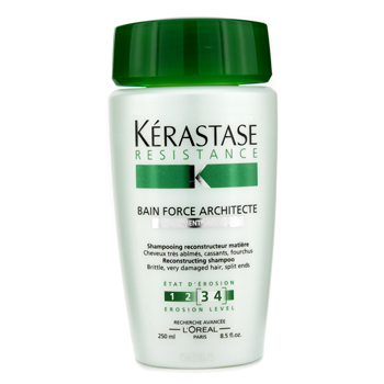 buy Kerastase Resistance Bain Force Architecte Shampoo (For Brittle  very Damaged Hair  Split Ends) 250ml/8.5oz by Kerastase skin care shop