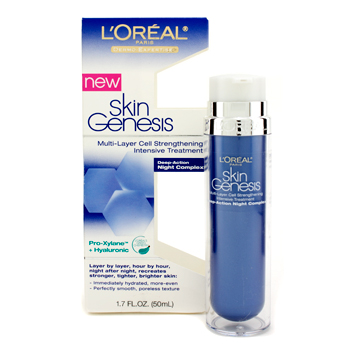 Para a pele da mulher, L'Oreal, L'Oreal Dermo-Expertise Skin Genesis Multi-Layer Cell Strengthening Intensive Treatment 50ml/1.7oz