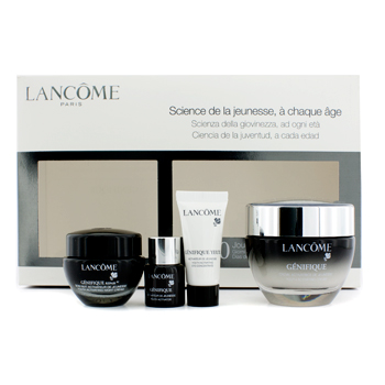 Lancome Lancome Genifique Set: Youth Activating Cream 50ml + Night Cream 15ml + Youth Activator 7ml + Eye Concentrate 5ml 4pcs