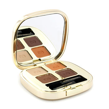 Maquiagens, Dolce & Gabbana, Dolce & Gabbana Estojo de sombras The Eyeshadow Smooth Eye Colour Quad - # 115 Cocoa 4.8g/0.16oz