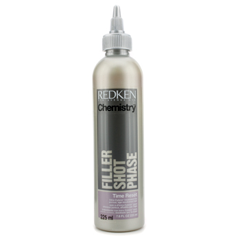 Cuidados com o cabelo, Redken, Redken Tratamento Chemistry Filler Shot Phase Time Reset Intra-Cylane Treatment (Porous  Age-Weakened Hair) 225ml/7.6oz