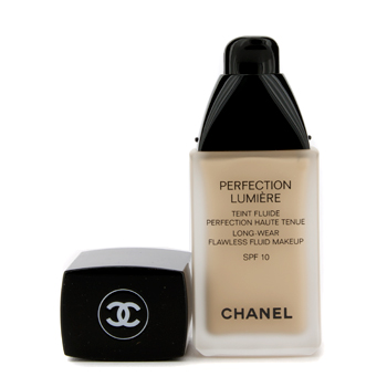 Maquiagens, Chanel, Chanel Base liquida Perfection Lumiere Long Wear Flawless Fluid Make Up SPF 10 - # 20 Beige 30ml/1oz